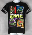 Teenage Mutant Ninja Turtles Boys T-Shirt Black New 5/6 7 8 10/12 14 Nickelodeon