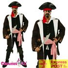 Mens Pirates Of The Caribbean Captain Jack Sparrow PRESTIGE Adults Costume