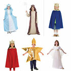 Childrens Christmas Nativity Fancy Dress Costumes Dressing Up, Mary Joseph, Star