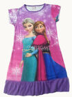 Disney Frozen Elsa & Anna Children Kids Girls Dress Pajama Nightgown 3-10 Purple