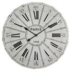 "Extra Extra Large Retro Shabby Chic Wall Clock. 68cm Diameter (26"" +) A005"