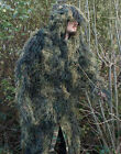 Military Anti-Fire GHILLIE SUIT PARKA Army Woodland Camo Camouflage - All Sizes