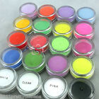 21 Different Colors Acrylic Dust Powder Builder 5g 3D Nail Art Tips Eyes Decor