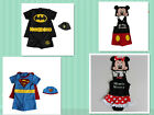 Batman Superman Minnie Swimwear Swimmer Bathers Size 2-6