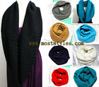 (8 Colors) New Urban Fashion Scarf Women Warm Crochet Infinity Circle Loop Wrap
