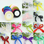 25 Yards 17mm Width Polyester Ribbon Craft Party Wedding Decoration 16 Colors