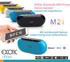 Edifier M21 Bluetooth NFC Compact MP3 Player Surround Sound Speaker Call Answers