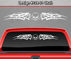Design #129-01 SKULL Cetic Knot Windshield Decal Window Sticker Vinyl Graphic