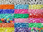 50 - 10 x 12 mm Butterfly Pony Beads #2 -  Color Choice