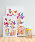 Stretched Canvas Watercolour Painting Print 3 Large Sizes Jaune Spring wallart