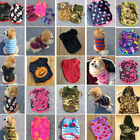 Puppy Small Dog Cat Pet Warm Lovely Coat Sweater Hoodies Winter Pumpkin Clothes