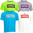 2014 Under Armour I WILL Tech Short Sleeve Mens T-Shirt