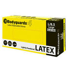 Bodyguards 4 Lightly Powdered Latex Disposable Gloves GL818 - 1000 Gloves