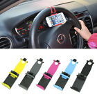 Iphone Phone Samsung GPS Universal Car Steering Wheel Bike Clip Mount Holder New