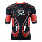 Optimum Inferno  Rugby Body Protection  Black/Red