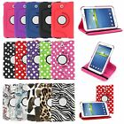 Leather 360 Case Cover Skin for Samsung Galaxy Tab 3 7 8 10.1