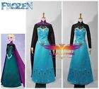Disney Film Frozen Snow Queen Elsa Coronation Outfit Adult Dress Cosplay Costume