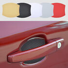 4Pcs Magnetic Car Door Handle Scratch Guard Protective Cover Molding Trim 5Color