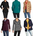 OLD NAVY Womens Wool Blend Peacoat Pea Coat Jacket REG, TALL, PETITE SIZES NEW