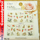 Color Printing Water Tranfer Nail Art Stickers Gift Rabbit Style 6-19