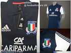ADIDAS ITALIA 2015 NAVY RUGBY PLAYERS POLO SHIRT jersey NEW ORIGINAL PACK ITALY