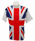 "Union Jack  T-Shirt 100% Cotton Super Quality Adults Small 34/36"" Great Britain"