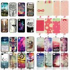 Cheap Beautiful Various Paint Pattern Case Cover For iPhone 4 4S 5 5S 6 6Plus