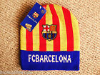 OFFICIAL BARCELONA BEANIE HAT Mens Football Soccer calcio Away Red Yellow