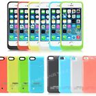 4200mAh/2200mAh Portable Power Bank Charger Pack Battery Case for iPhone 5 5S 5C