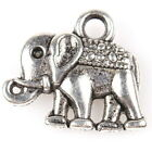 50/250pcs 145160 Hot New Elephant Animal Charms Vintage Silver Alloy Pendants