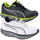 PUMA MENS FITNESS TRAINERS LEATHER SHAPE STEP UP TONING GYM WALKING SHOES SIZE