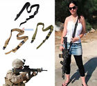 Adjustable 3-Point Tactical Rifle Gun Sling Strap Lanyard Hook F Outdoor Hunting