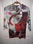 Look Both Ways Womens Top Blouse Far East Design Sizes S M L XL NWT