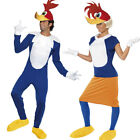 Winnie Woody Woodpecker Fancy Dress Costume - Mens Ladies Official 40s TV Outfit