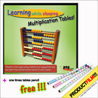 Learning while sleeping... Multiplication Tables! CD +1x1 tables pencil GRATIS!