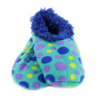 Snoozies Cozy Foot Coverings Mixed Dots, Various Sizes
