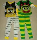 NWT Yo Gabba Gabba 2-pc Pajamas U Choose Brobee or Plex 2T or 4T Ck Measurements