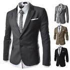 Luxury Men's Casual Suits Tops Wedding Business Blazers Two Button Coat Jackets