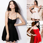 Sexy Women Bodycon Casual Cocktail Prom Party Clubwear Strap Short Mini Dress