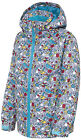 Trespass Zane Boys Ski Jacket Coat Winter Snowboarding 2 - 10 years Comic Print