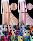 "1 Meter 16 MM 100% Silk Charmeuse Silk Fabric Clothing Sewing Wide 45"" 30 Colors"