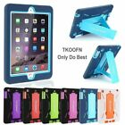 Kids Shock Proof Hybrid Rubber Heavy Duty Case Stand Cover for Apple All iPad