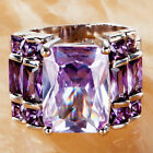 Exquisite Fashion Tourmaline Gemstone  AAA Silver Ring Size 6 7 8 9 10 11 12 13