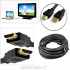 0.5M 1M 1.5M 2M 3M 4M 5M 10M Premium Gold HDMI V1.4 Male 1080p HDTV LCD 3D Cable