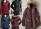 NWT Eddie Bauer Slope Side Down Parka 550 FP Black/Beet/Pat Blue/Dusty Purple