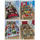 Marvel Comic Avengers Age Of Ultron Hero Single Double Bed Duvet Quilt Cover New