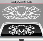 Design #165-01 SKULL Back Window Decal Sticker Vinyl Graphic Tribal Accent Truck