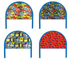 FC15 NEW TWIN SIZE CHILDRENS BOYS GIRLS YOUTH THEMED HEADBOARD BED BLUE METAL