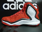 NEW ADIDAS D Rose 5 Boost Woven Mens Basketball Shoes - Red/White;  C77290