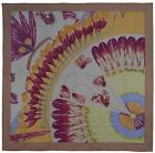 NEW Authentic Hermes GM Silk Shawl BRAZIL II DETAIL Dip Dye 140 cm